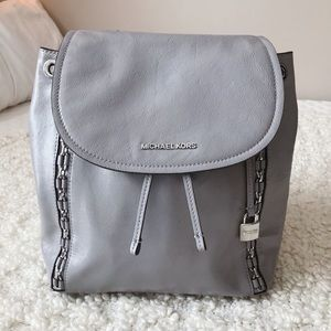 NWOT Michael Kors Patent Leather Backpack